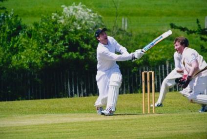 Jamie Keleher skies one at North Holmwood, 2004