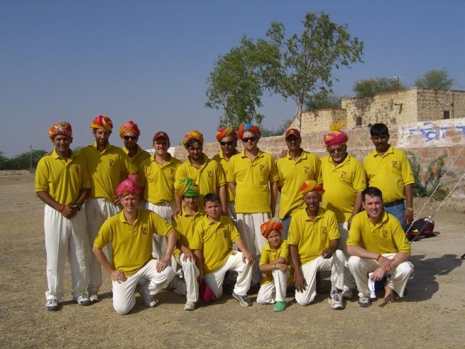 Team KCC look bright in Rajasthan, India
