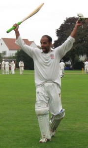 David Behar celebrates his century