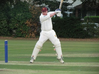 Matty crashes another to the boundary