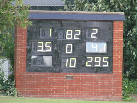 Chasing 295 in 35 overs we get a great start