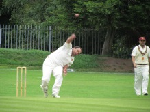 Ryan gets an early wicket