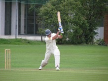 Wes to the rescue with a a fifty in 44 balls