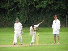 Asad Rehman ties KCC down: 12.5-7-25-4