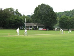 Game in progress at Great Missenden