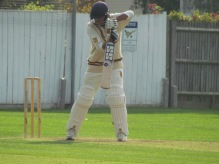Watchful San builds an innings