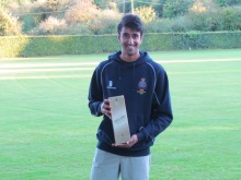 Kunaal KAnkate wins the Man of the Match for his 94