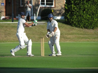 Tabrez enjoys wicketkeeping