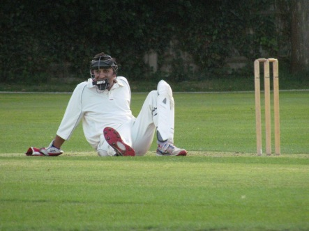 Shahzeb's new stance behind the stumps
