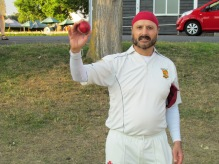 Pammi bags 5/23 to win the match