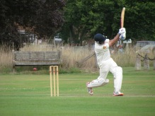 Swing and a miss from Nitin