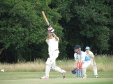 Bernard gets his chance - 4 fours but no sixes