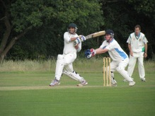 Shahzeb attacks on his way to an unbeaten 41