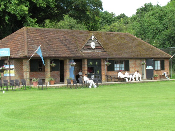 The pavilion at Cholesbury Common