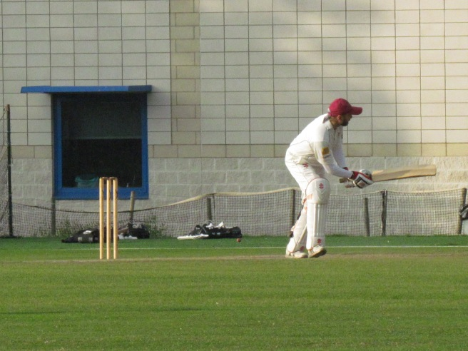 Another 4 for Pammi on his way to 62 in 42 balls