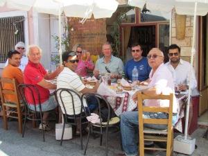 Lunch at a village taverna