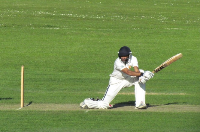 Rohan Ghosh launches an attack