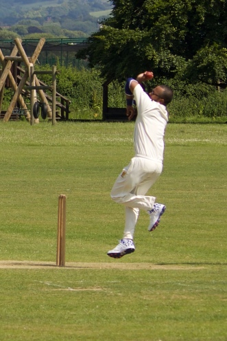 Saikat bowls out the opener in the first over