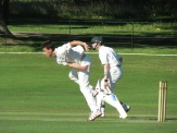 Bernard captures 3 for 29 in a fine opening spell