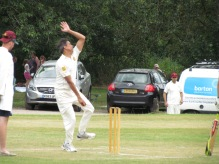 Deepak bowls a tight spell 10-3-28-3