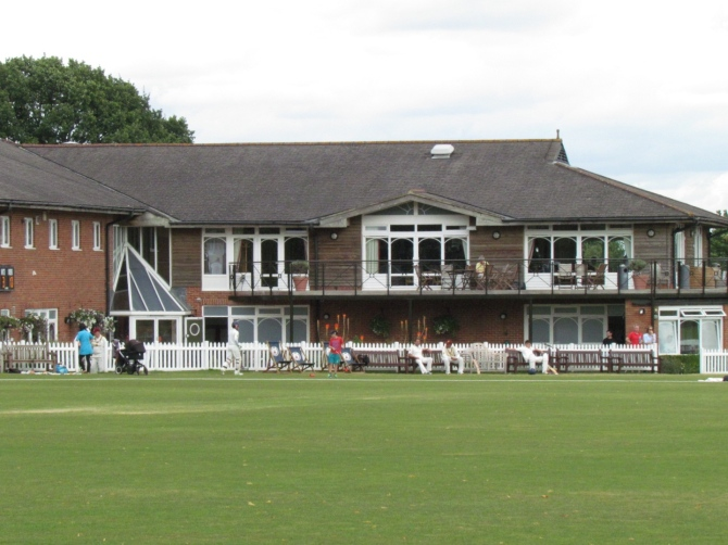 The pavilion at Church Road