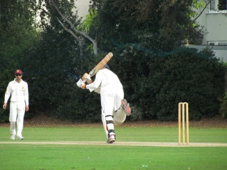 Preetinder launches a four off Varun