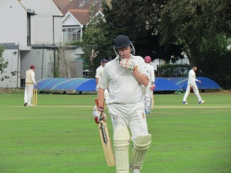 50 not out for Chris