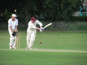 ...and glances elegantly in a 2nd wicket stand of 89