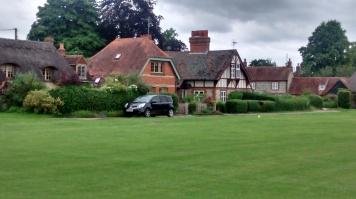 Houses around the Warborough ground