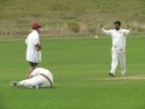 caught Saurav, bowled Hammad