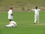 caught Saurav, bowled Hammad