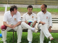 Steve, Tabby and David reflect after the match