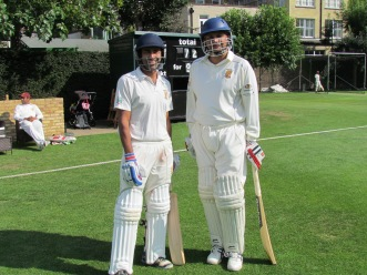 Back to business - Ro and Jai open for KCC