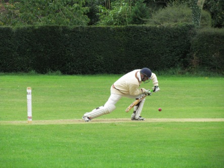 Preetinder's cautious start coming in at 37/3 after 18 overs