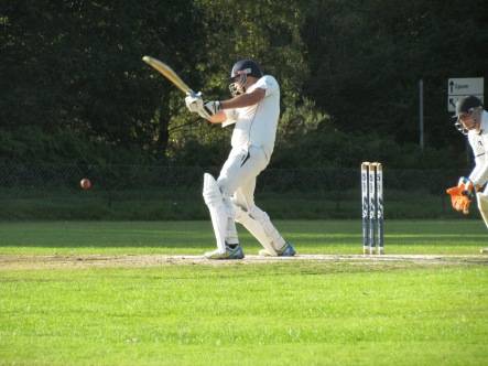 Sid Chhibbar gets going for the long chase