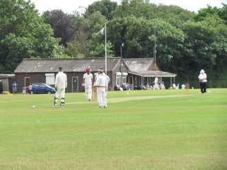 Teddington ground in Bushy Park