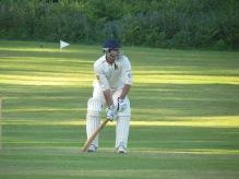 Eddy Barreto the batsman