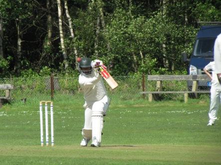 Akhi Shailendra, the batsman, saves KCC blushes with 49*
