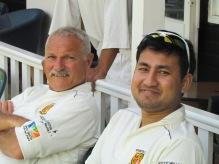 Nino Trapani and Manas Roy