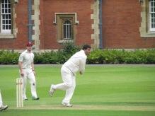 Atul bowling a fine 12 overs