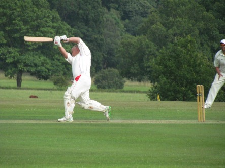 Dad Dean Allen-Turner drives solidly to 60