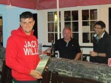 Man of Match Jake Austin wins it for Tilford