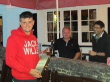 Man of Match Jake Austin wins it for Tilford