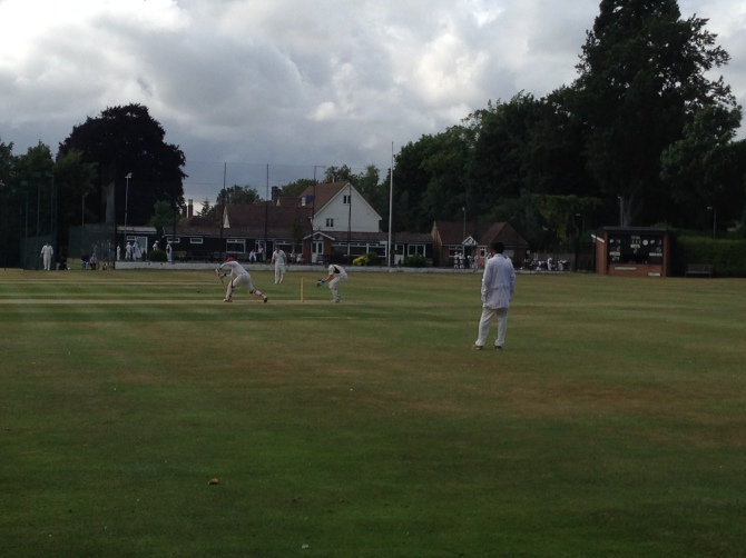 A dull day and a fruitless one for KCC at Sawbridgeworth