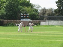 Tim gets to his hundred in 83 balls