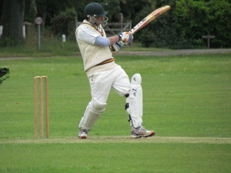 Shahzeb plays his first match of the season