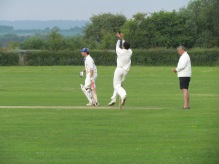 Saurav picks up 2 wickets