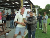 Man of the Match Ian Elliott for his 75 not out to snatch victory for North Holmwood