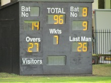A miserable start and middle for KCC