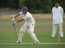 Ravi Mantha plays his part in a 51 run opening stand